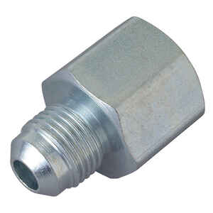 BrassCraft  3/8 in. Dia. x 1/2 in. Dia. Flare To FIP  Steel  Connector