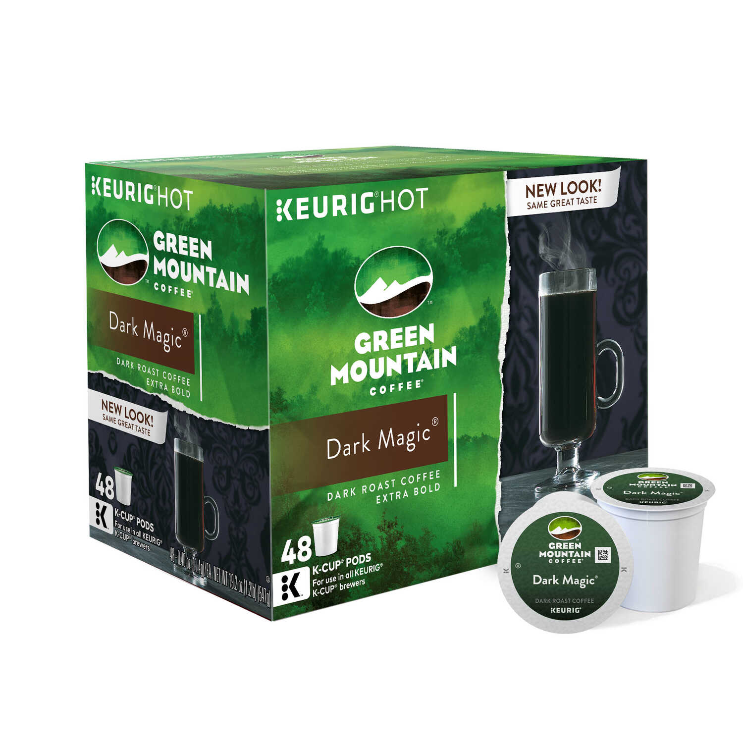 Keurig  Green Mountain  Dark Magic  Coffee K-Cups  48 pk