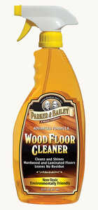 Parker & Bailey  Orange Scent Floor Cleaner  22 oz. Liquid