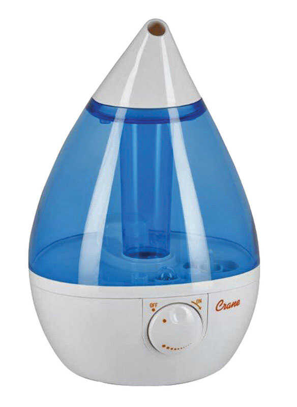 Crane  1 gal. 500 sq. ft. Ultrasonic Humidifier  Electro-Mechanical