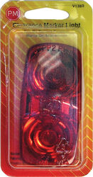 Peterson  Red  Rectangular  Clearance/Side Marker  Light