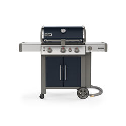 Weber  Genesis II E-325  Natural Gas  Grill  Indigo  3 burners