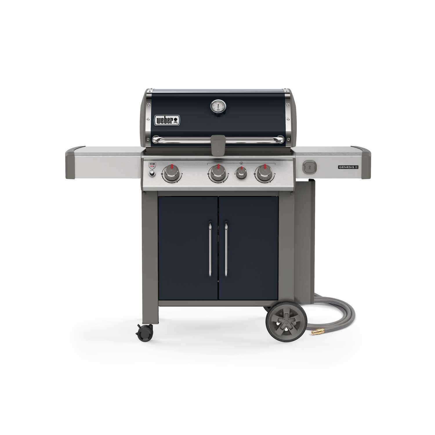 Weber  Genesis II E-325  Natural Gas  Freestanding  3 burners Indigo  Grill