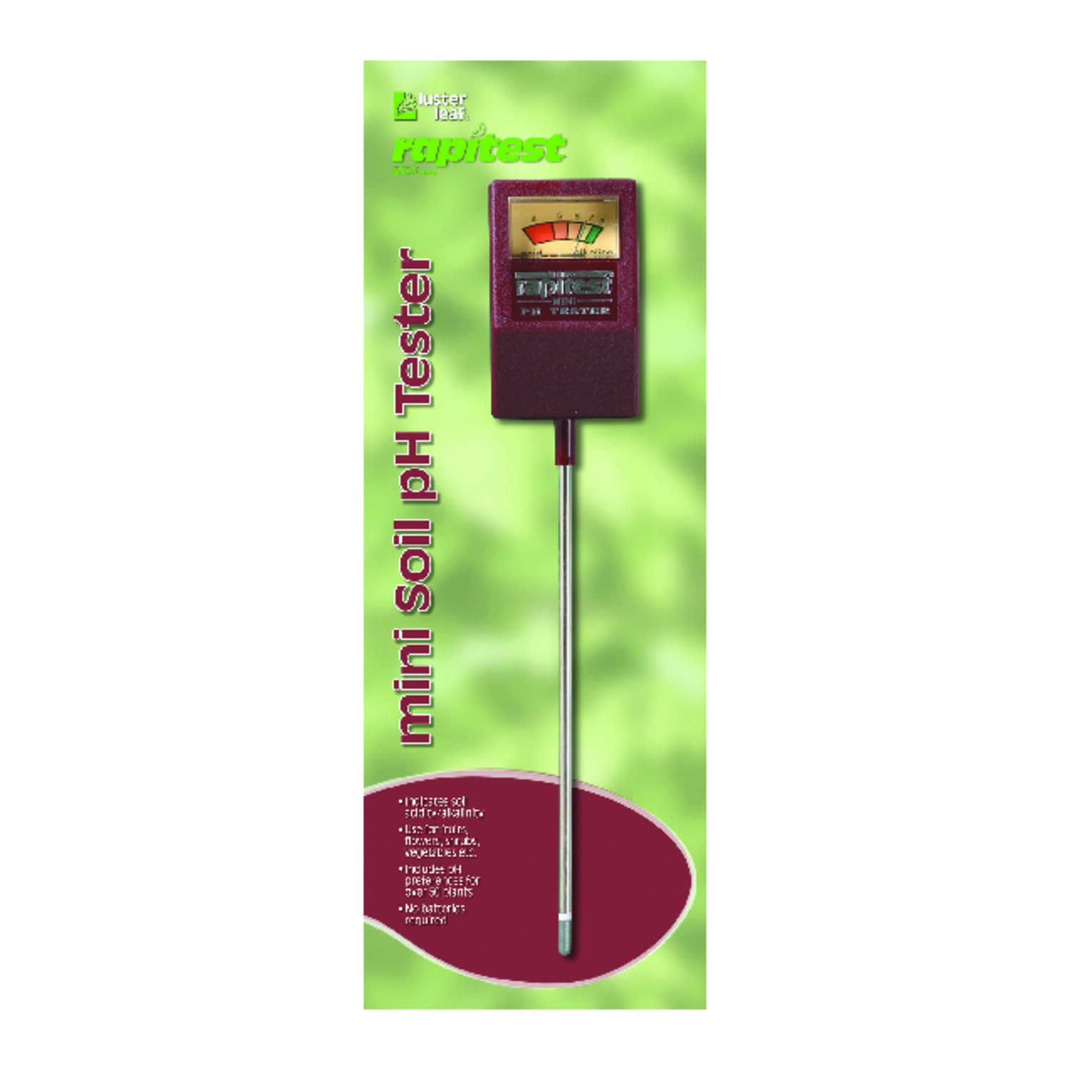 Luster Leaf  Rapitest  Analog  pH Meter