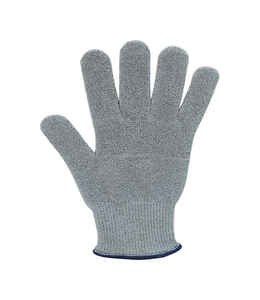 Microplane  Gray  Man-Made Wire-Free Knit  Cut Resistant Glove  1 pk