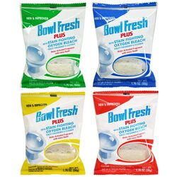 Bowl Fresh Clean Scent Toilet Deodorizer and Cleaner 1.76 oz. Tablet