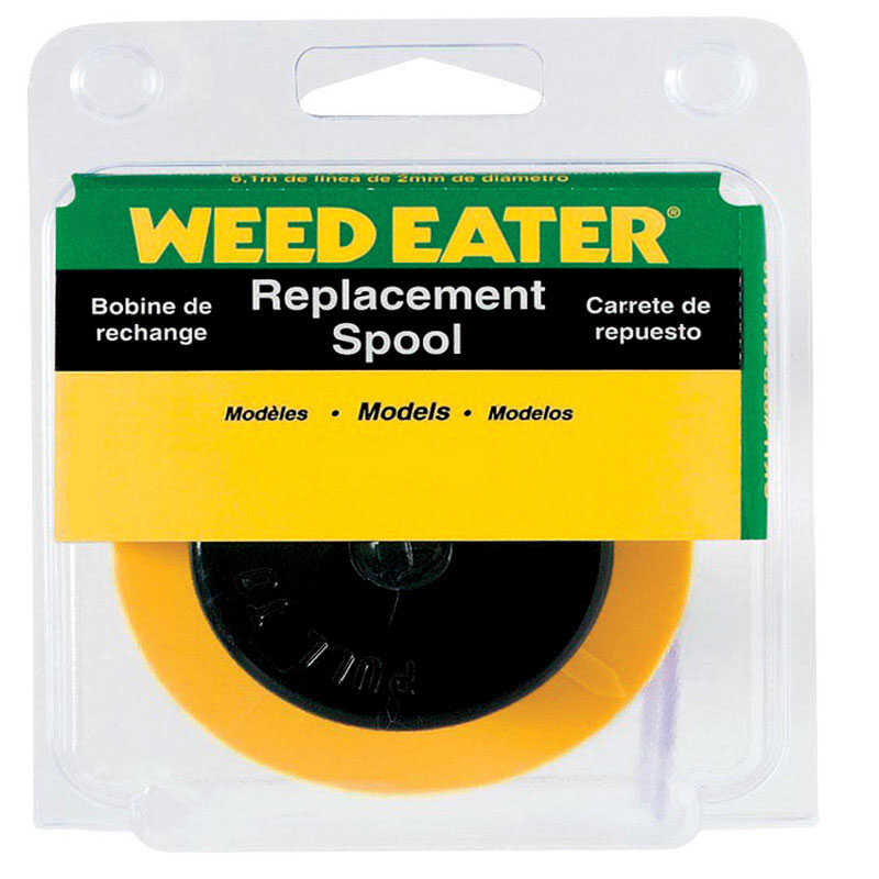 Weed Eater  0.065 in. Dia. x 25 ft. L Replacement Line Trimmer Spool
