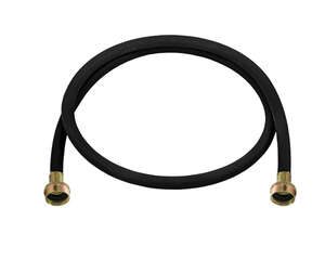 Ultra Dynamic Products  3/4 in. Dia. x 3 ft. L Rubber  Washing Machine Hose