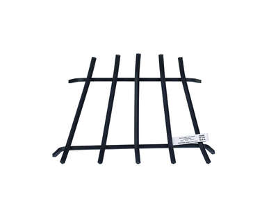Vestal Black Painted Steel Fireplace Grate