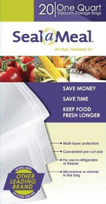 Seal A Meal  1  Plastic  Vacuum Sealer Bags