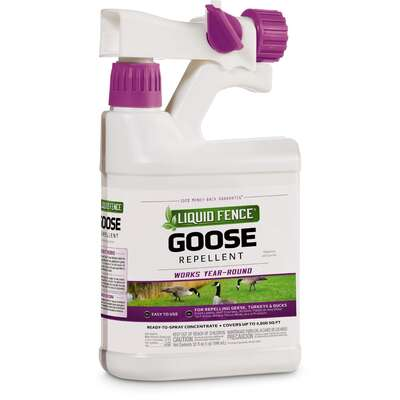 Liquid Fence Animal Repellent Spray For Most Animal Types 32 oz.