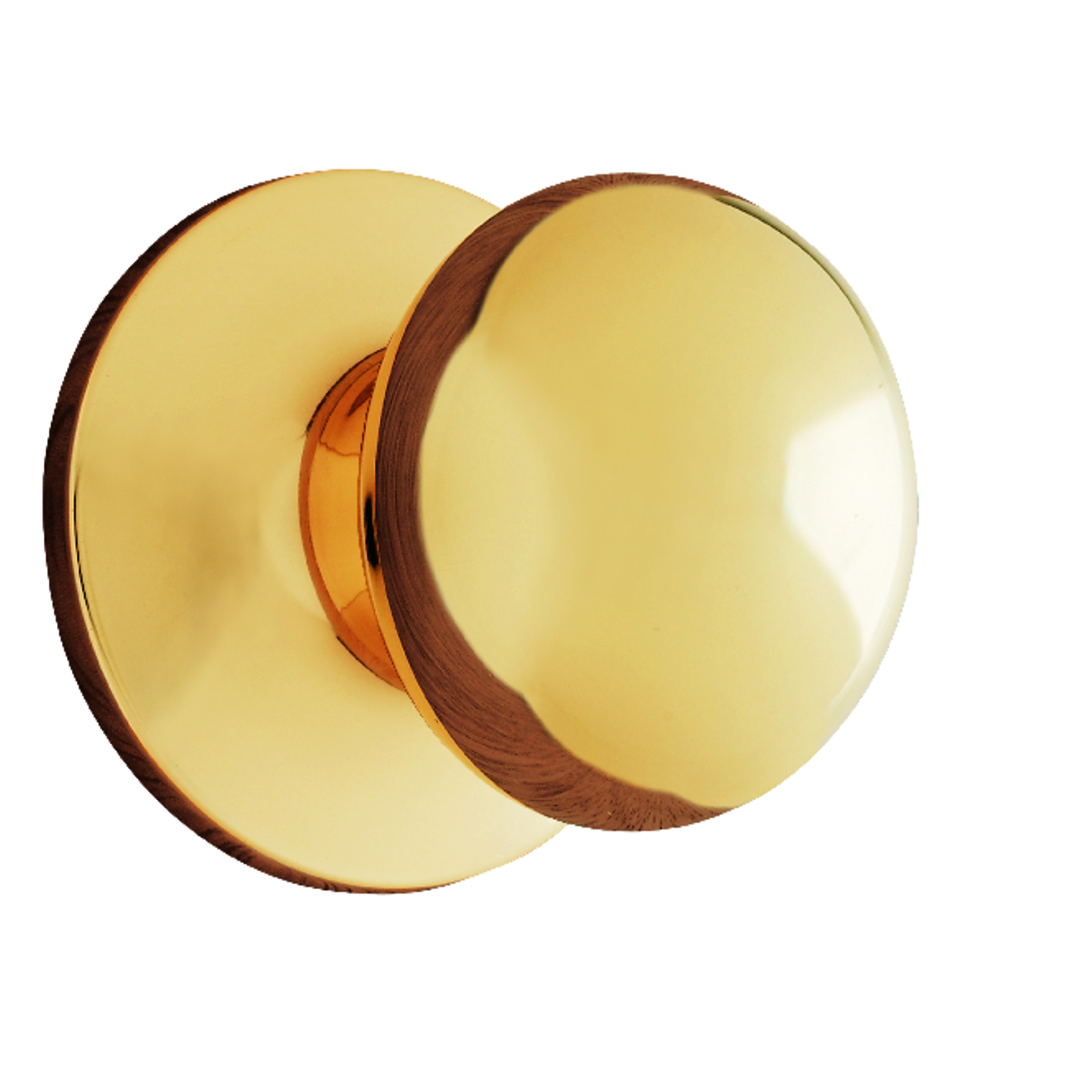 Ace  Colonial  Polished Brass  Steel  Dummy Knob  3 Grade Non-Handed