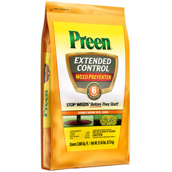 Preen  Extended Control  Weed Preventer  Granules  21.45 lb.
