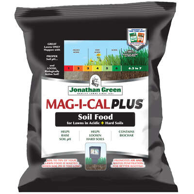 Jonathan Green  Mag-I-Cal Plus  Annual Program  Lawn Fertilizer  For All Grasses 5000 sq. ft.
