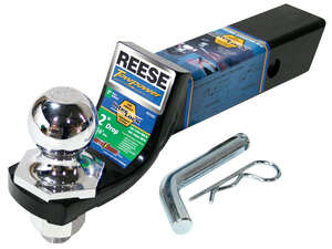 Reese  Towpower  Steel  Locking  2 in. Ball Mount Lock