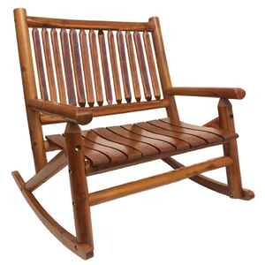 Leigh Country  Amber Log  Double Rocker  Wood