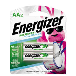 Energizer  NiMH  AA  1.2 volt Rechargeable Batteries  NH15BP-2  2 pk