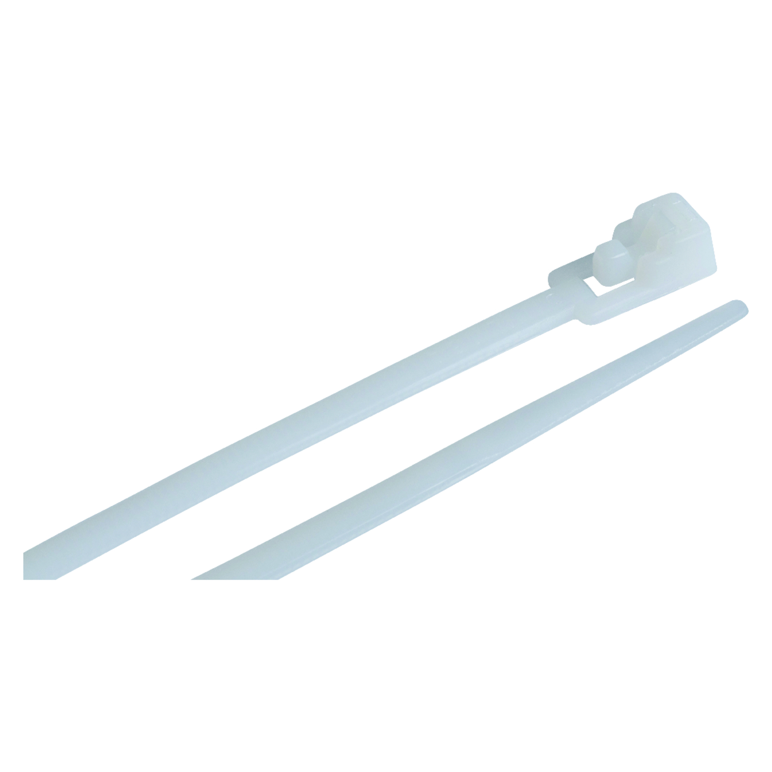 Gardner Bender Releasable 8 in. L White Cable Tie 25 pk - Ace Hardware