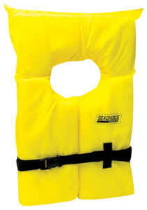 Seachoice  Child  Yellow  Life Jacket