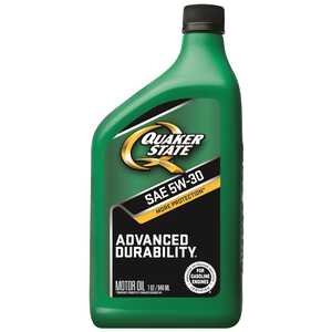 Quaker State  Peak Performance  5W-30  4 Cycle Engine  Motor Oil  1 qt.
