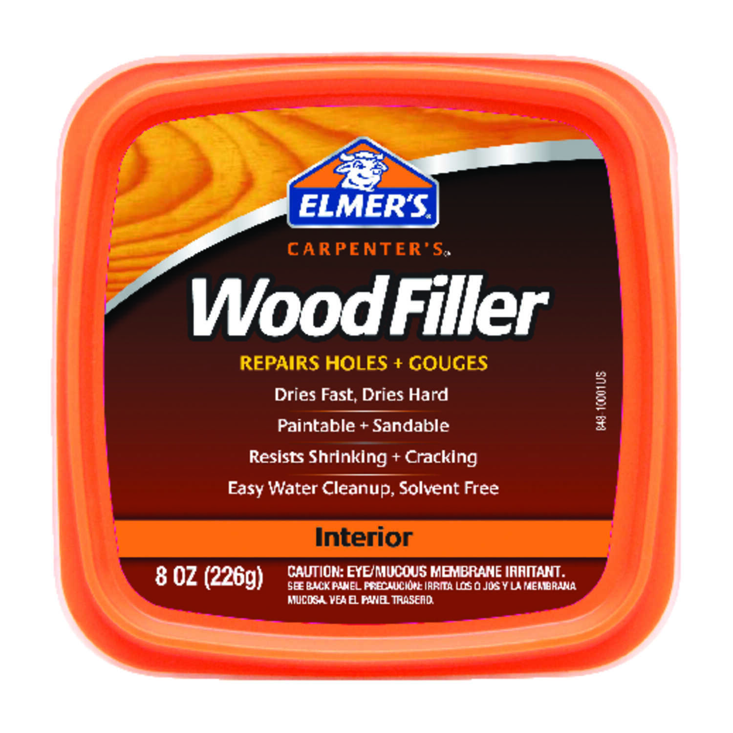 Elmer's  Carpenter's  Light Brown  Wood Filler  8 oz.