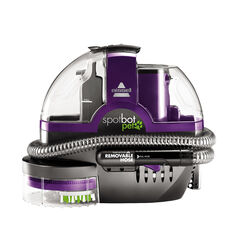 Bissell  SpotBot Pet  Bagless  Carpet Cleaner  3 amps Standard  Purple