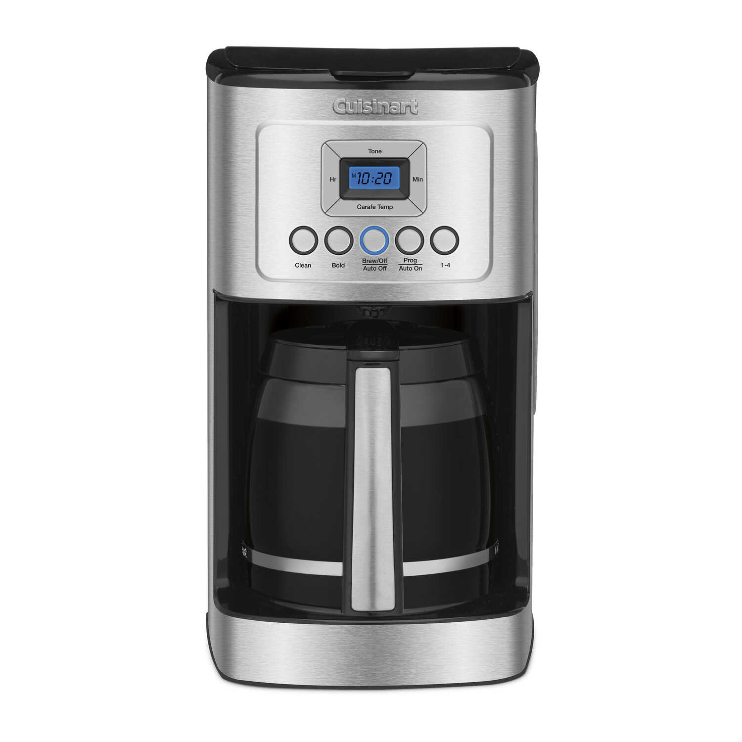 Cuisinart  Perfectemp  14 cups Black/Silver  Coffee Maker