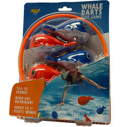 Water Sports  Assorted  Plastic  Whale Darts  Dive Set