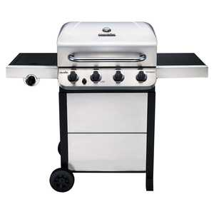 Char-Broil  Performance  4 burners Propane  Stainless Steel  Grill  36000 BTU