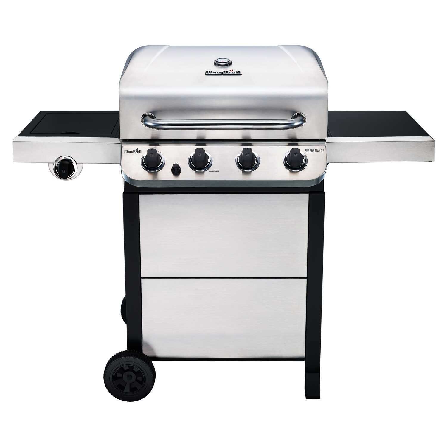Char Broil Performance 4 Burners Propane Grill Stainless Steel 36000 Btu