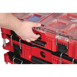 Milwaukee  PACKOUT  19.76 in. L x 15 in. W x 4.61 in. H Storage Organizer  Impact-Resistant Poly  10