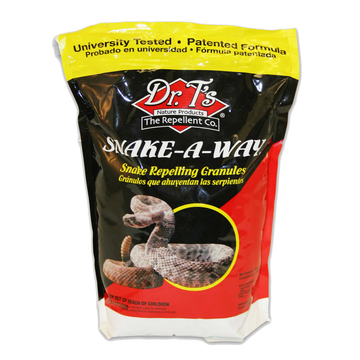 Dr. T's  Snake-A-Way  For Snakes Animal Repellent  4 lb.