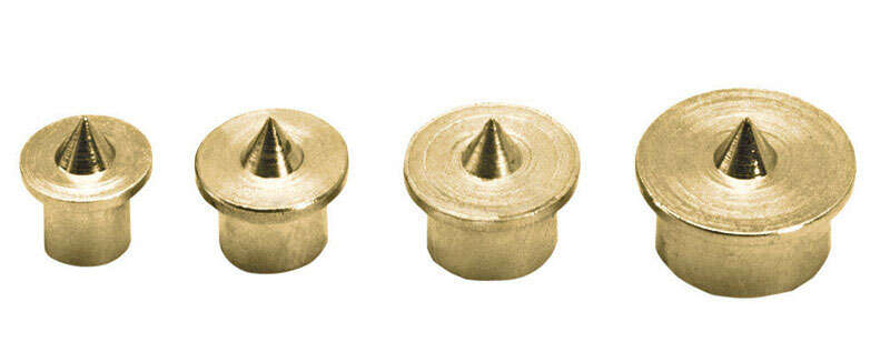 General Tools Steel Dowel Centers 1/2 in. 8 pc.
