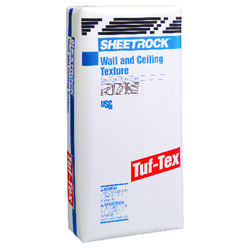 USG  Sheetrock  White  Water-Based  Tuf Tex Textured Sheetrock Mix  50 lb.