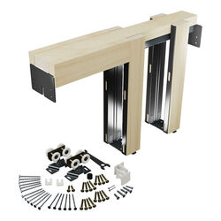 Prime-Line  Aluminum  Pocket Door Frame Kit  1 pk