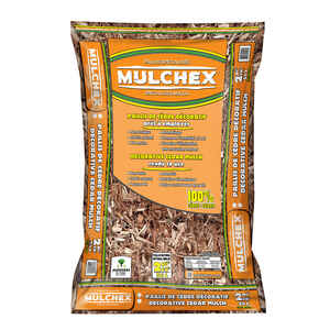MULCHEX  Natural  Cedar  Mulch  2 cu. ft.