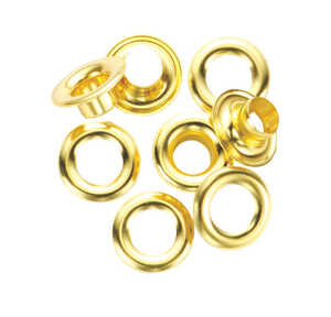 General Tools  1/2 in. Dia. x 0.5 in. Dia. Brass  Grommet  24 count