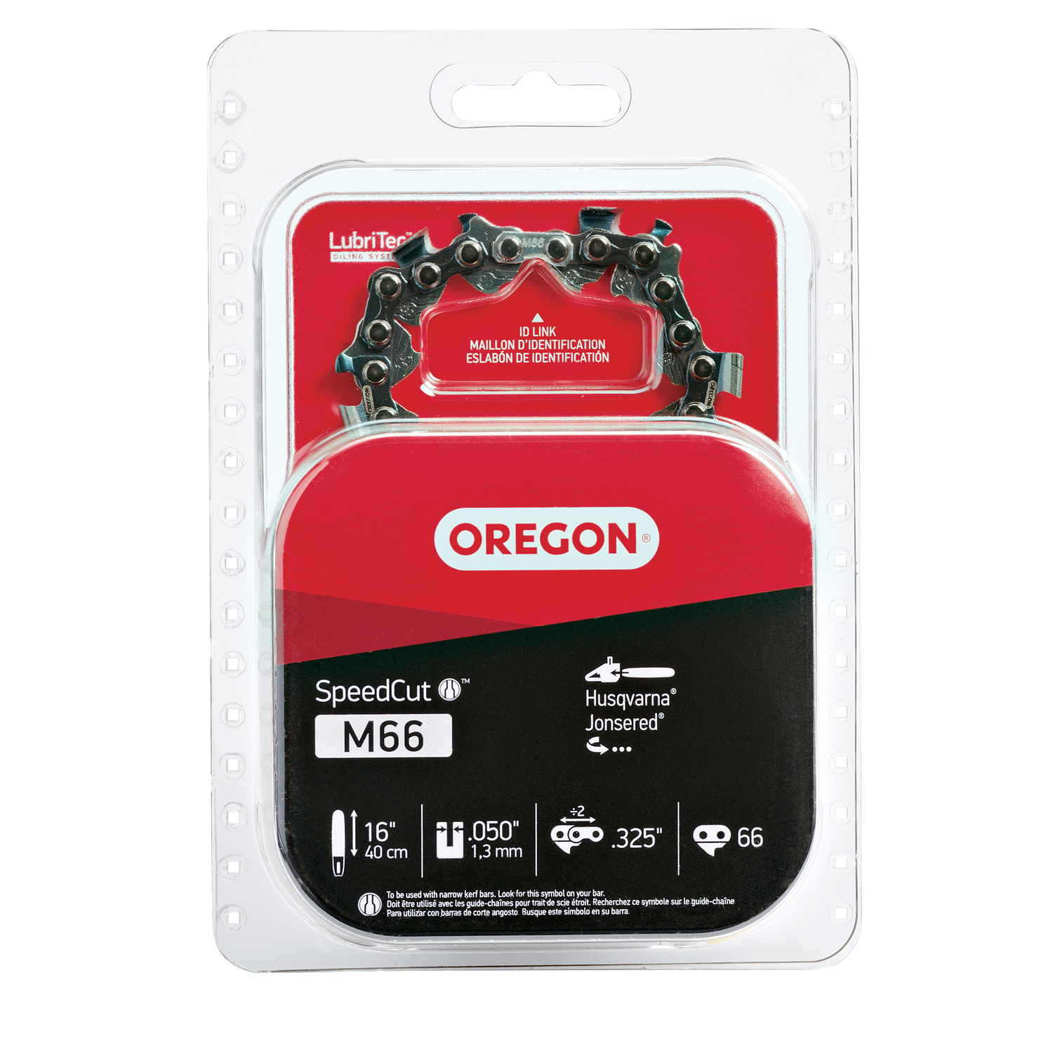 Oregon  SpeedCut  16 in. L 66 links Chainsaw Chain