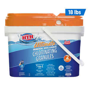 hth  Ultimate Mineral Brilliance  Granule  Chlorinating Chemicals  18 lb.