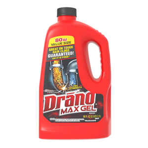 Drano  Professional Strength  Gel  Clog Remover  80 oz.