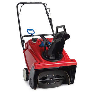 Toro  21 in. W 212 cc Single-Stage  Pull and Electric Start  Snow Blower