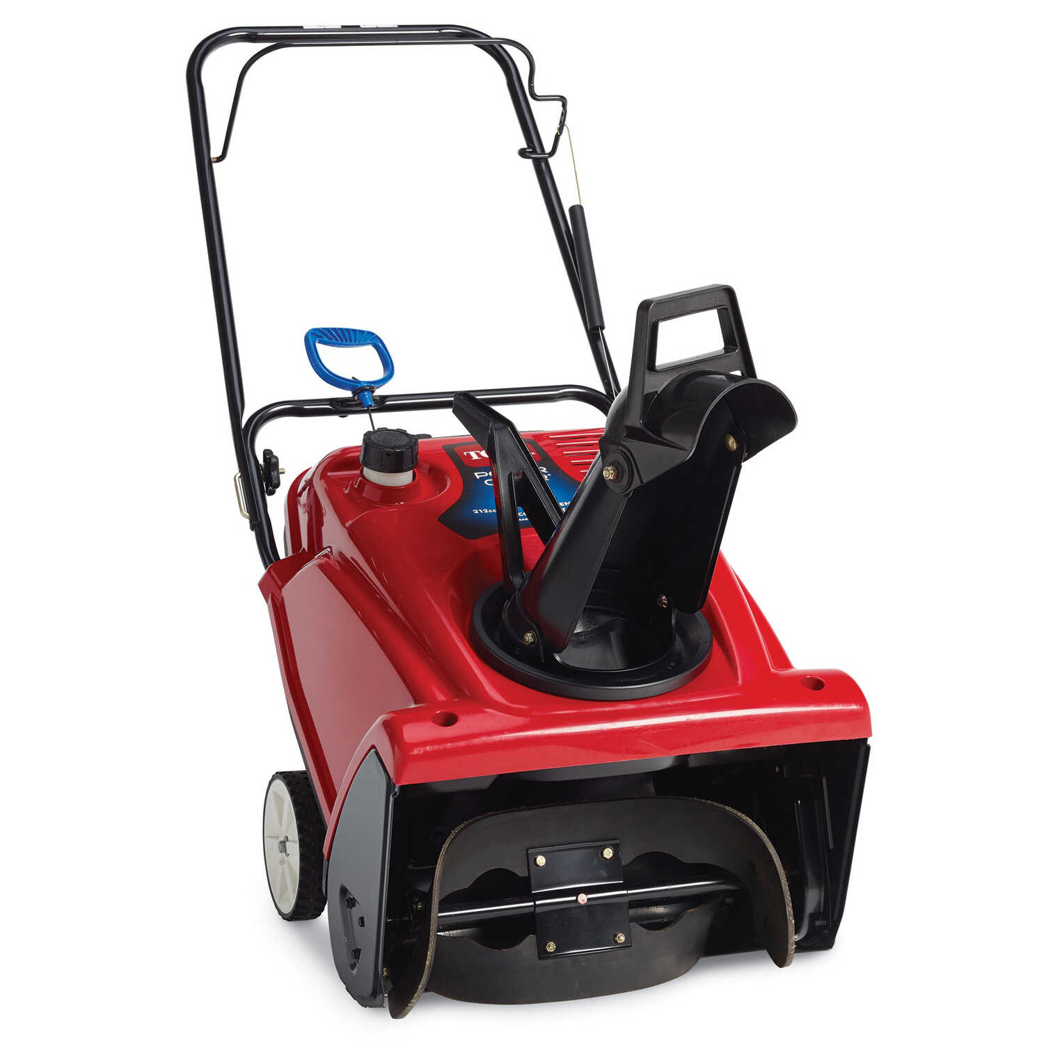 Toro  21 in. W 212 cc Single-Stage  Pull and Electric Start  Gas  Snow Blower