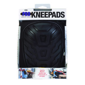 CLC Work Gear  7 in. L x 4.9 in. W Foam  Knee Pads  Black