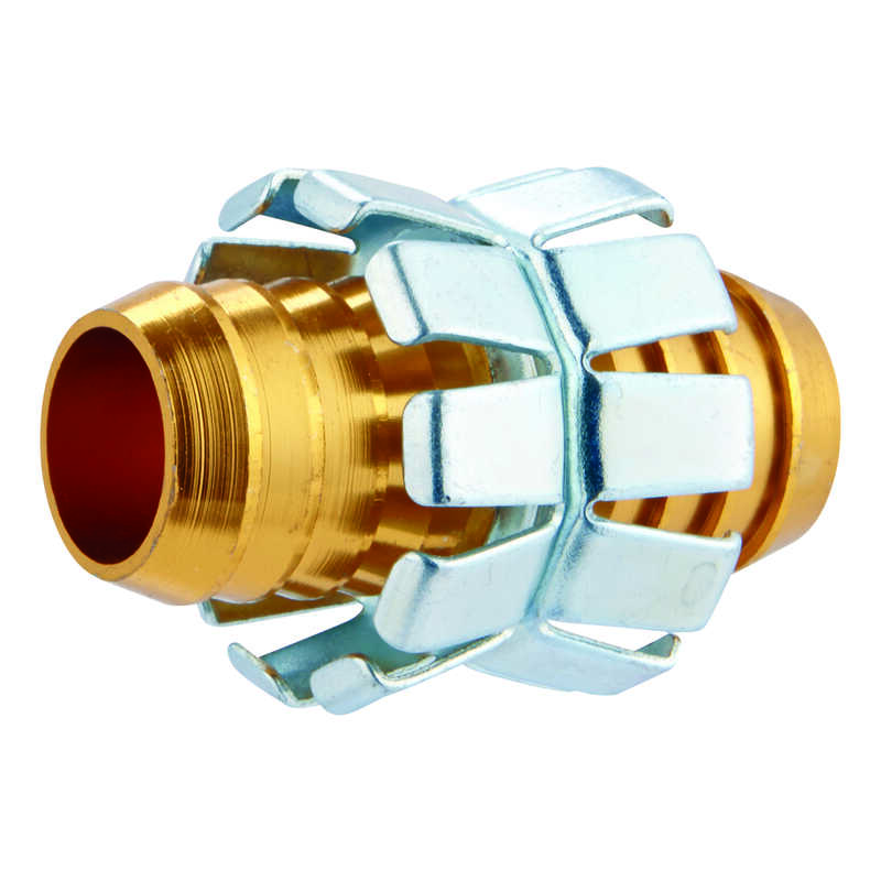 Ace  3/4 in. Aluminum  Non-Threaded  Male  Hose Mender Clamp