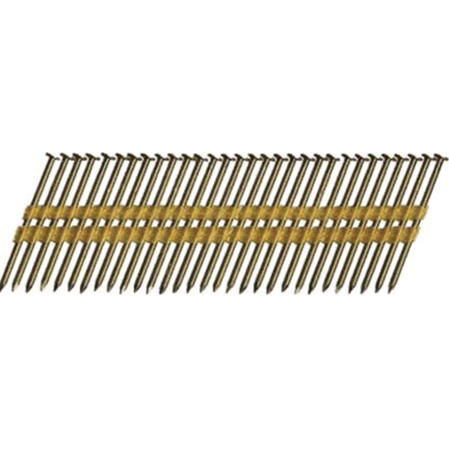 Hitachi  3-1/4 in. Angled Strip  Framing Nails  21 deg. Smooth Shank  4000 pk