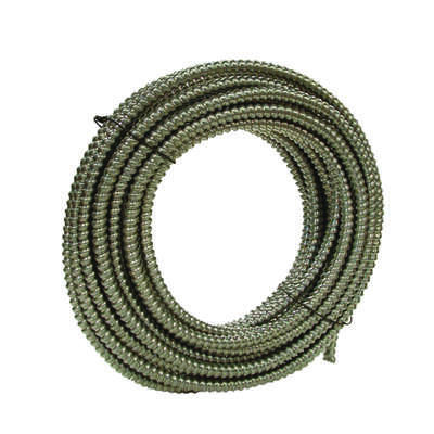 Southwire  3/8 in. Dia. x 100 ft. L Aluminium  Flexible Electrical Conduit  For FMC