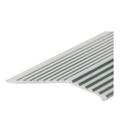 Frost King  Thermwell Products  0.63 in. W x 36 in. L Satin  Silver  Aluminum  Carpet Joiner