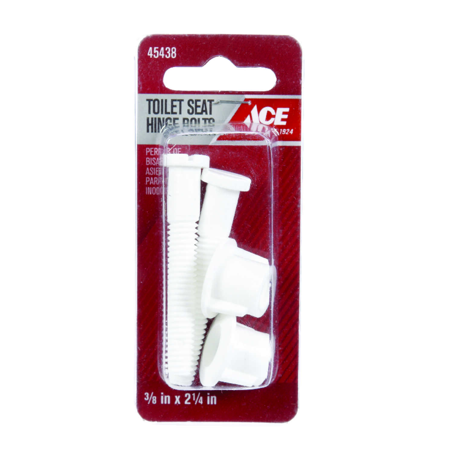 Ace Toilet Seat Hinge Bolts Plastic Ace Hardware