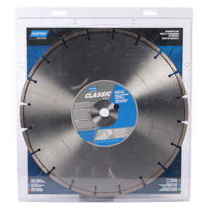 Norton  Classic  14 in. Dia. x 1 in./20 mm   Segmented Rim Saw Blade  Diamond  1 pk