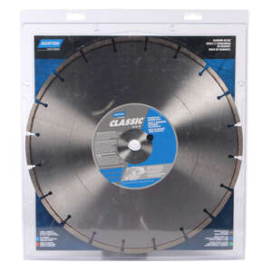 Norton  Classic  0.11 in.  Diamond  Segmented Rim Diamond Saw Blade  1 in./20 mm  14  Classic  1 pk